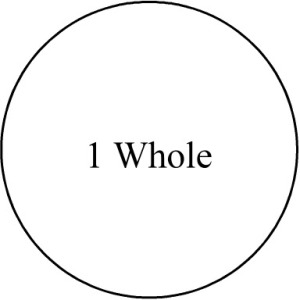 manipulative-fraction-circle-whole-outline