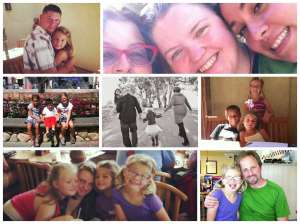 family photo collage adoption